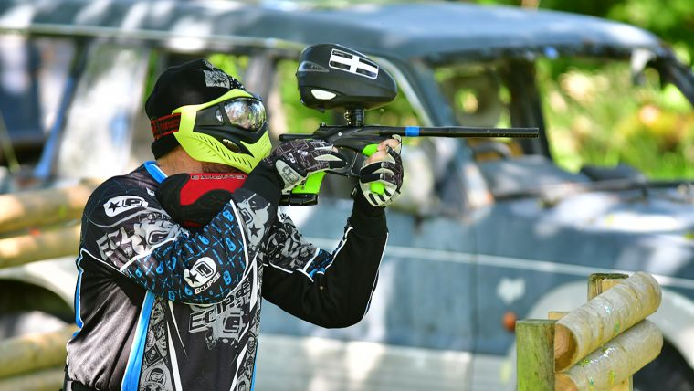 Newquay Paintball Site