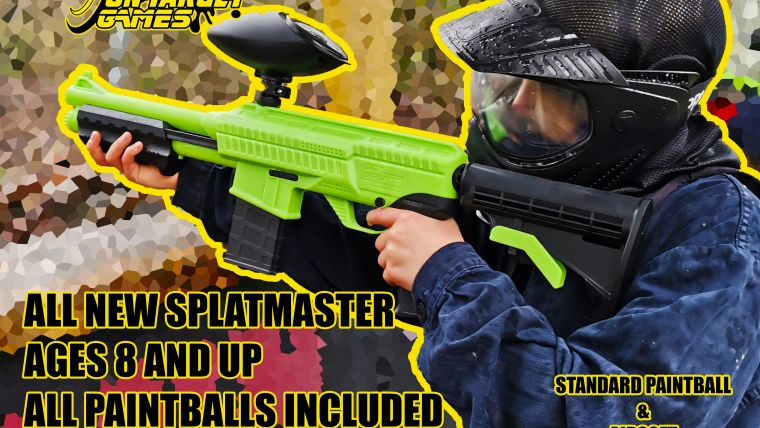 Splatmaster Paintball!
